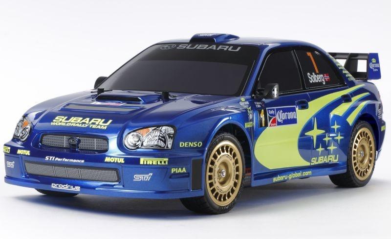 Subaru Impreza WRX 2004 1/10 4WD RC Rally-Fahrzeug TT-01E