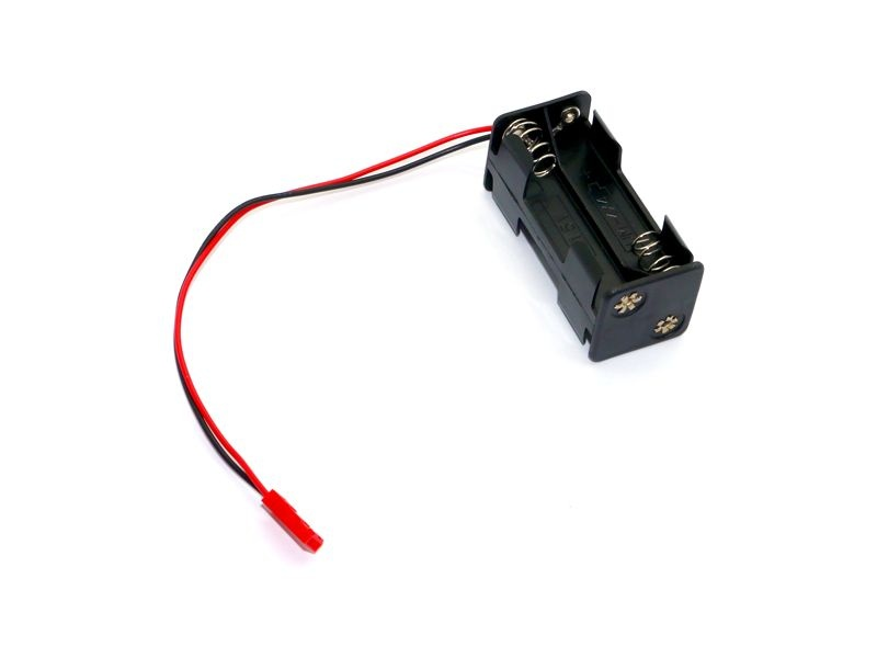 Batteriehalterung 4 AAA Zellen Würfel mit BEC Stecker