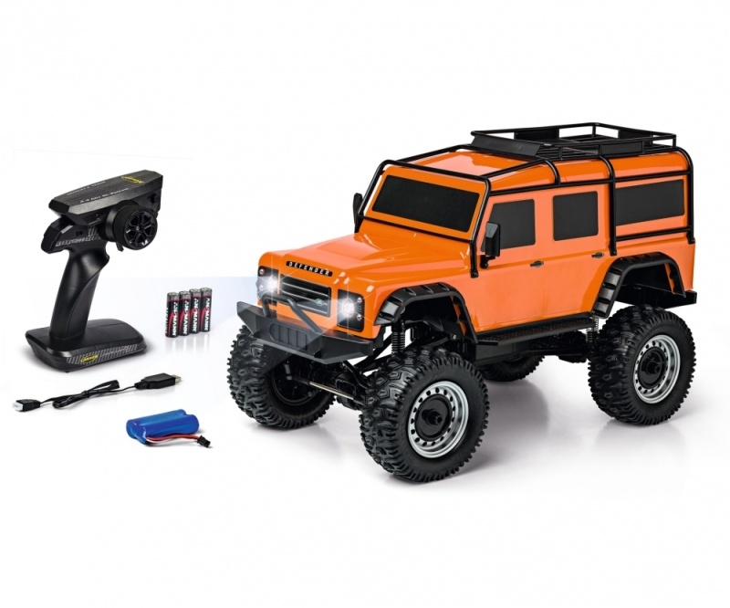 Land Rover Defender Rock Crawler 1:8 100% RTR orange