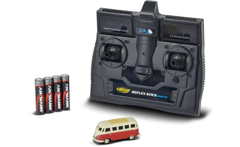 VW T1 Samba Bus 1/87 RC Fahrzeug 2,4GHz 100% RTR