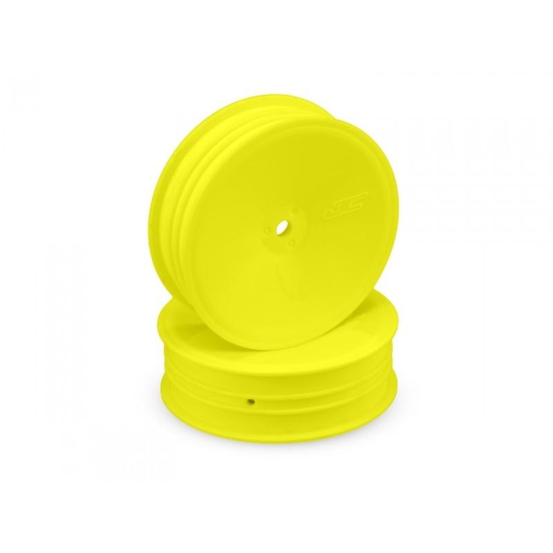 Mono 2.2 Frontfelgen schmal für B6.1, 12mm gelb (4 Stück)