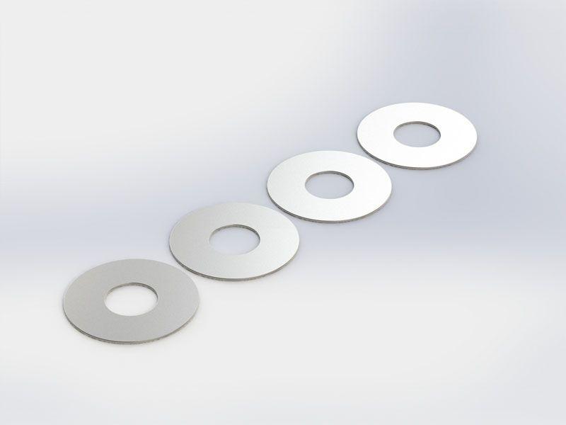 Unterlegscheiben M7x18x0,3mm (4 Stück)