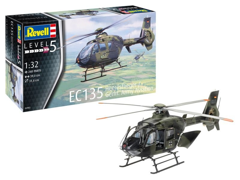 Hubschrauber EC135 Heeresflieger German Army Aviation 1:32