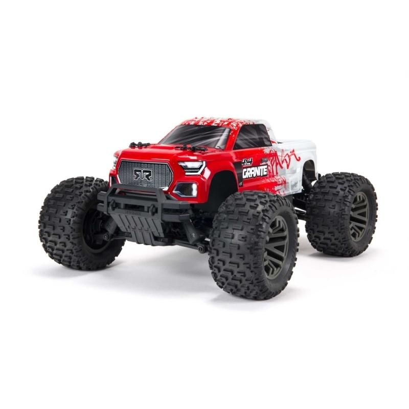 Granite 4x4 BLX 3S Brushless 4WD Monster Truck 1/10 RTR, rot