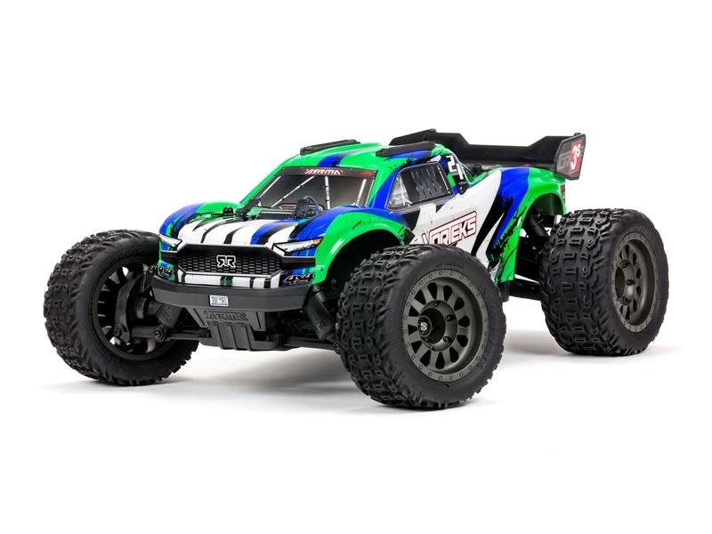 VORTEKS 4X4 3S BLX 1/10 Stadium Truck Spektrum RTR grün