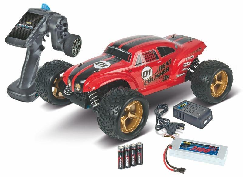 Beat Crusher 4WD 1:8 3S Elektro 2.4 Ghz 100% RTR