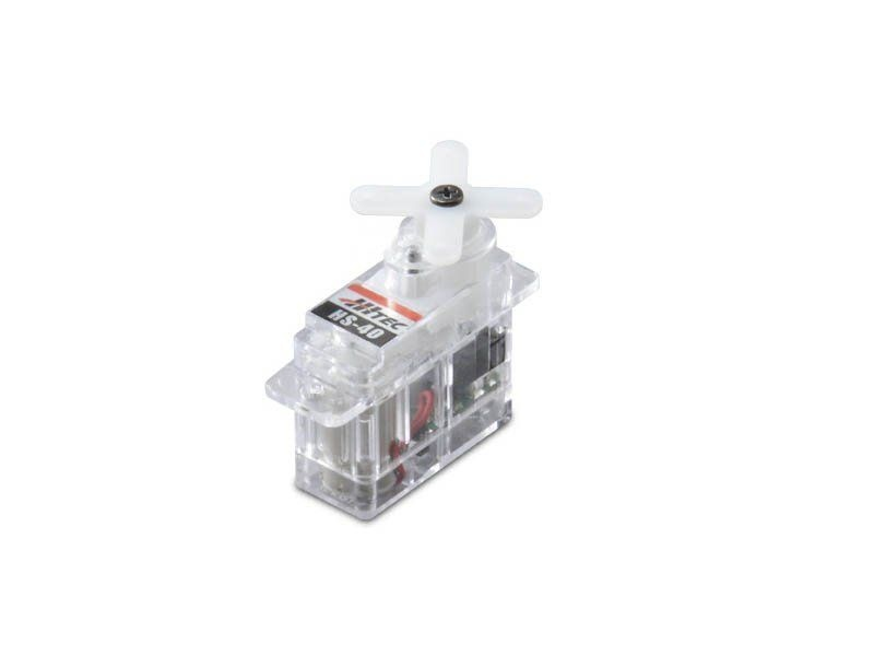 Indoor Servo Set 2x HS-40 und 1x HS-65HB