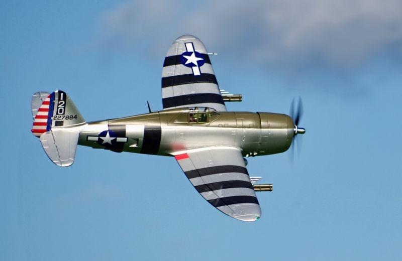 P-47 Thunderbolt Razorback Warbird Flugmodell 1500mm PNP