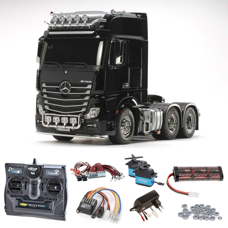 MB Actros 3363 Giga Space 6x4 Komplettset + LED, Kugellager
