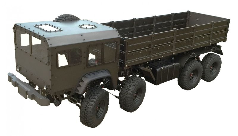 Scale Truck AMXrock Heavy Metal No.8 V2 Body Metal 4-achser