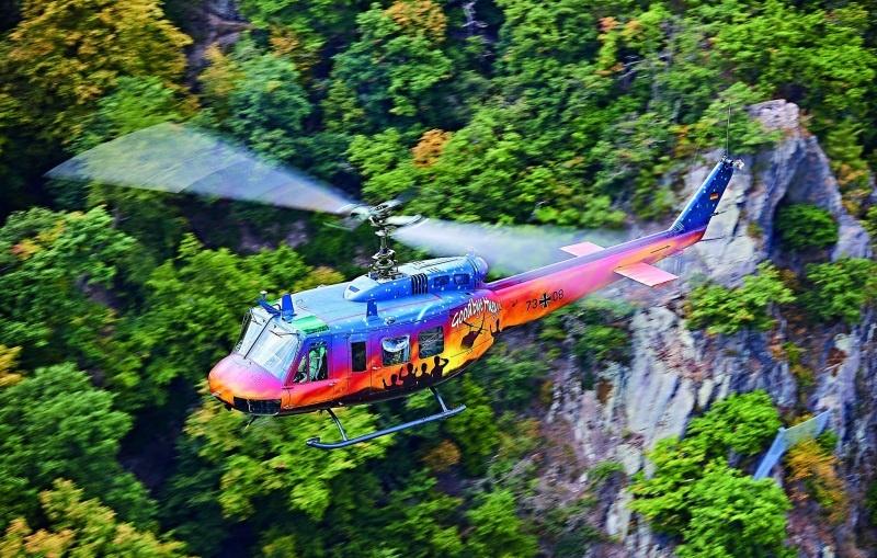 Bell UH-1D Goodbye Huey Bausatz 1:32