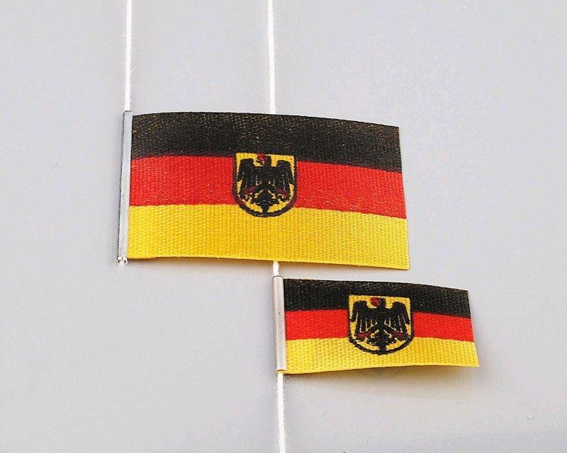 Bundesdienstflaggen 25x40 mm/15x30 mm