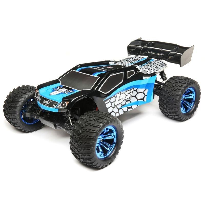 Tenacity-T 4WD Truggy 1/10 Brushless 2,4GHz AVC RTR, blau