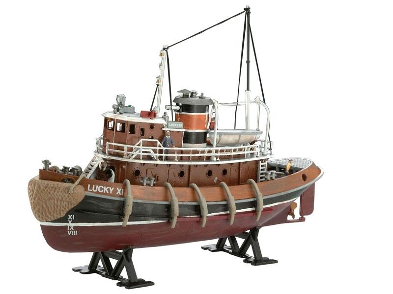 Harbour Tug Boat 1:108
