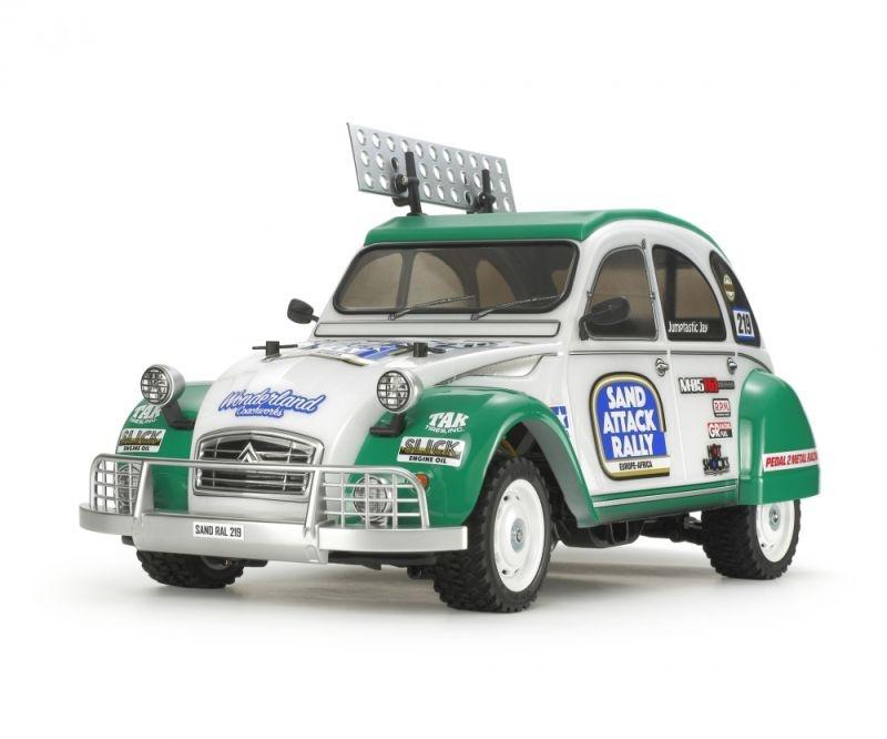 Karosserie Satz Citroen 2CV Rallye