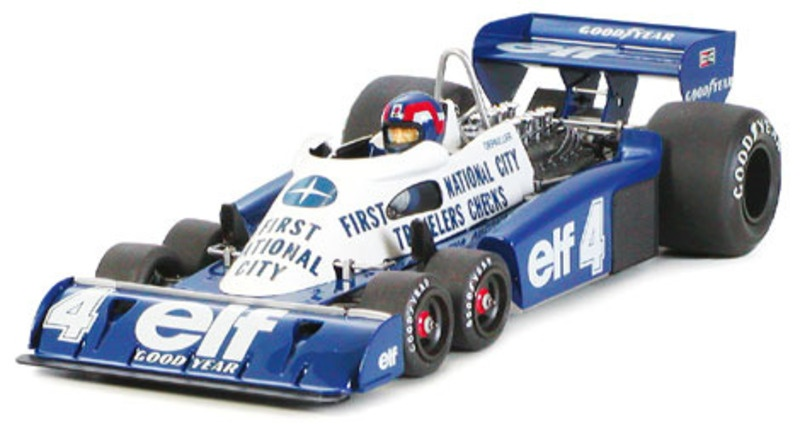 Tyrell P34 Six Wheeler Monaco GP 77 1:20