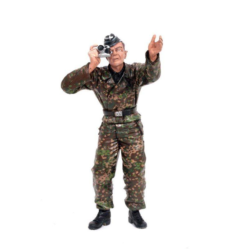 Figur Ladeschütze Stehend 1/16 für Panzermodelle