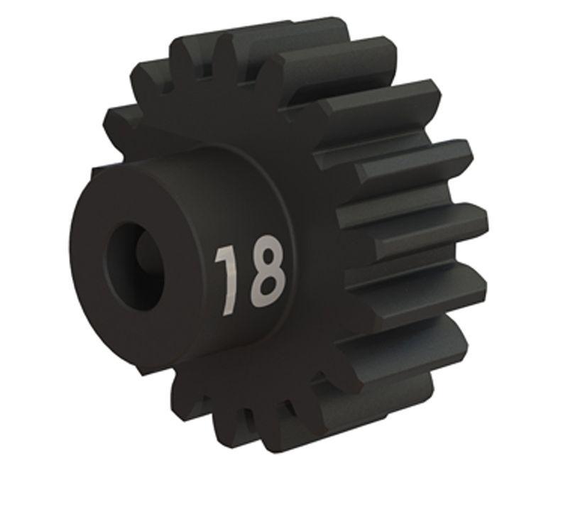 Stahl (gehärtet) Motorritzel 18T - 32dp (3,17mm)