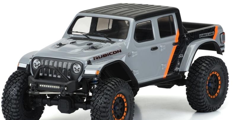 Jeep Gladiator Karosserie klar 313mm Radstand Scale Crawler