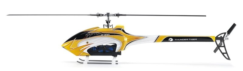 E700 Raptor V2 Helikopter Flybarless Elektro + Crash Kit