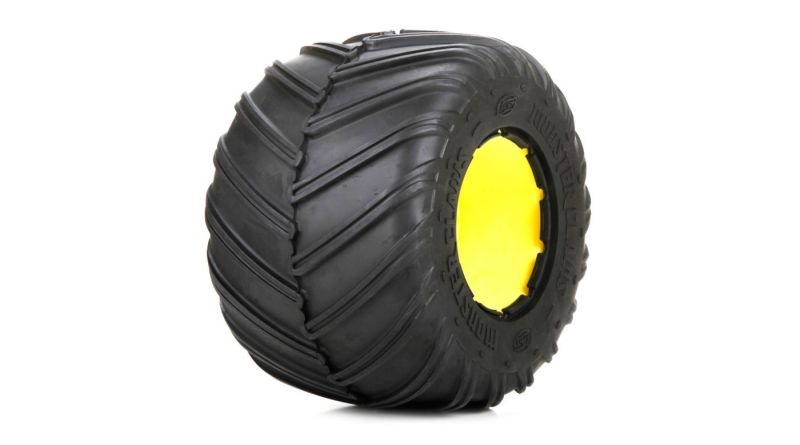 Monster Claw Tire L/R w/insert (2): MTXL