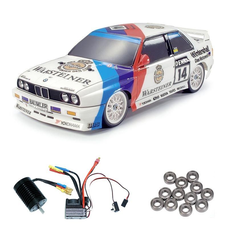 BMW SCHNITZER M3 EVO TT 01 Brushless-Edition + Lager