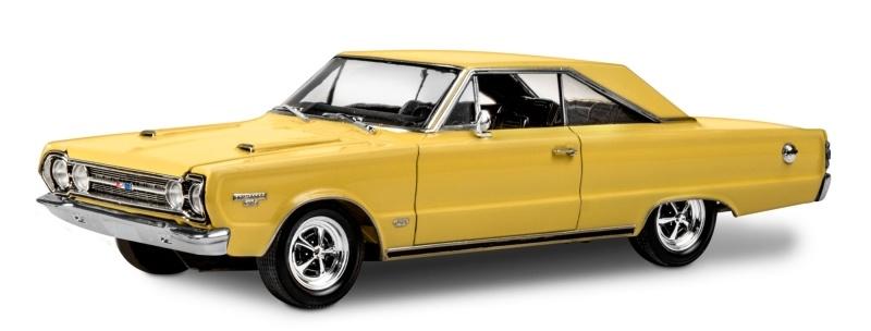 1967 Plymouth GTX Modellauto 1:25 Plastik Bausatz