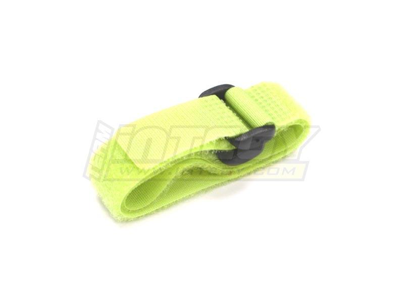 Universal Akku Klettband grün (2) 200mm lang