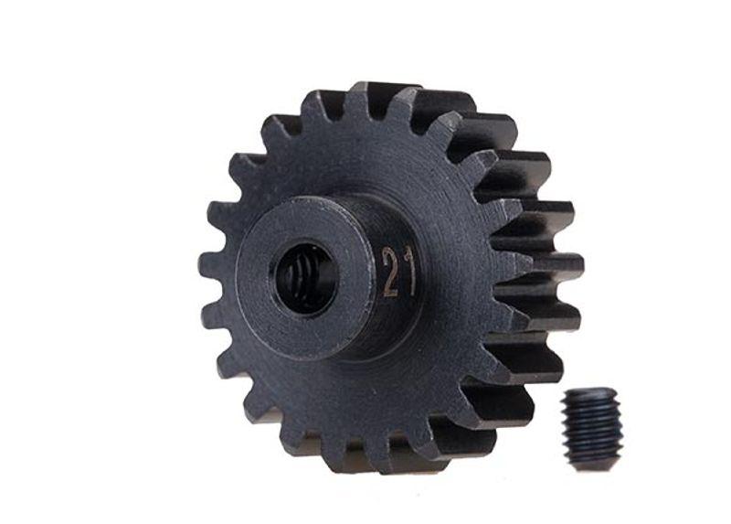 Stahl (gehärtet) Motorritzel 21T - 32dp (3,17mm)