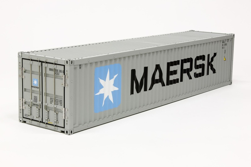 40ft. Maersk Container Bausatz 1:14