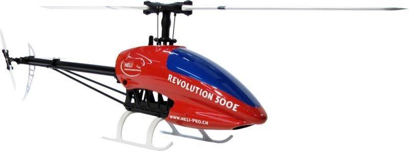 Revolution 500E Flybarless Elektro Hubschrauber Basic Combo