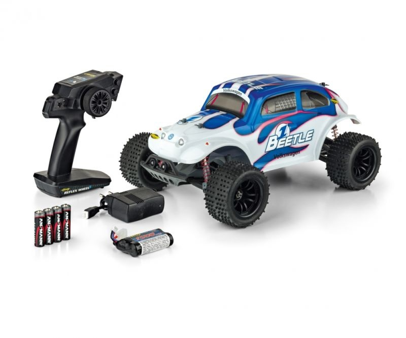 VW Beetle FE 2WD Truggy 1/10 mit LED 2,4GHz 100% RTR