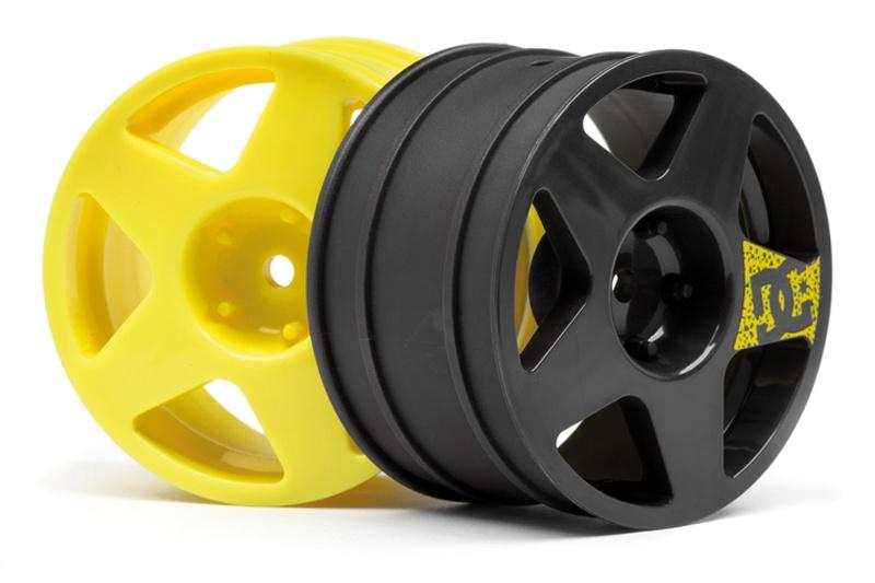 Fifteen 52 Felgen Set (3 x gelb, 1 x gunmetal)