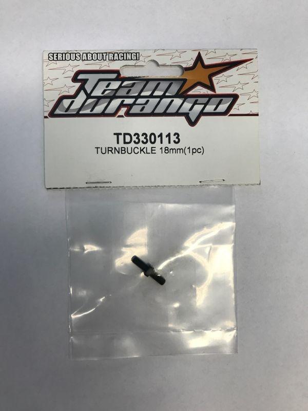 Spurstange einstellbar 18mm rechts/links Gewinde 3mm 1Stück