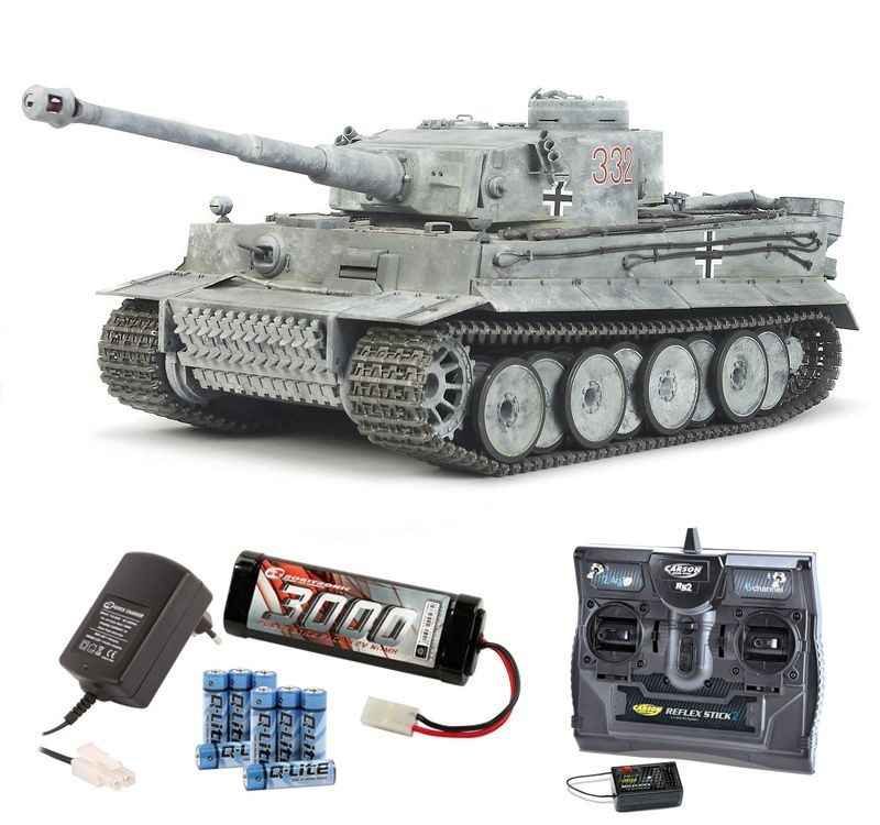 Panzer TIGER 1 Full Option 2,4Ghz Komplettset
