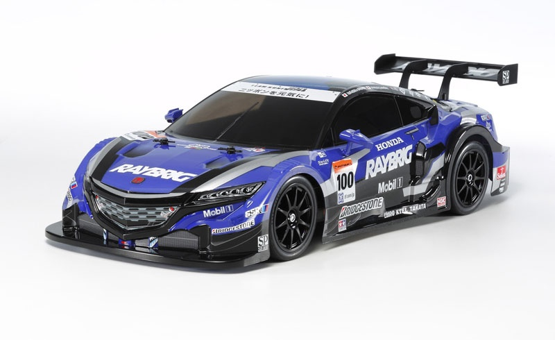 1:10 RC RAYBRIG NSX Concept-GT (TT-02) Bausatz
