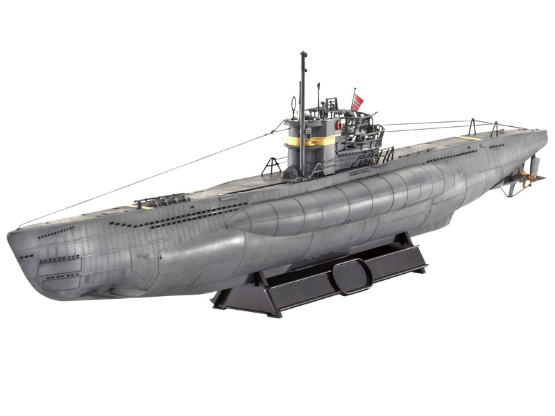 Deutsches U-Boot TYPE VII C/41 Atlantic Version 1:144