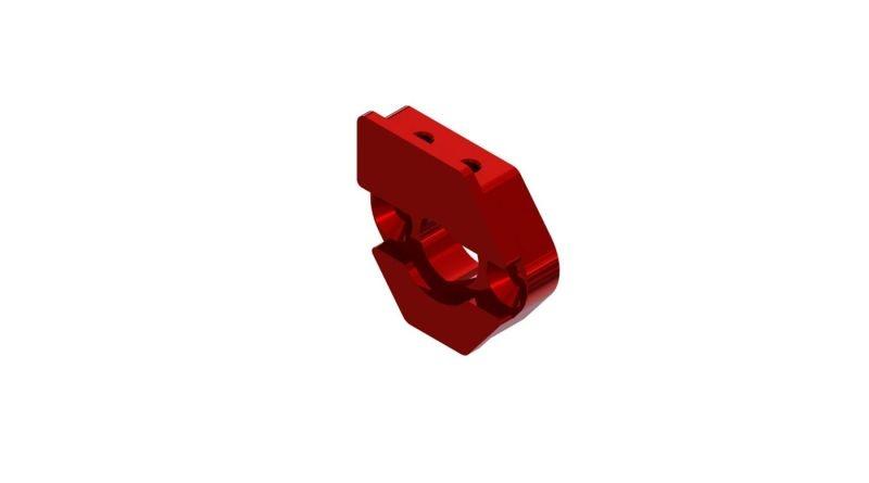 Schiebe Motorhalter Platte (rot)