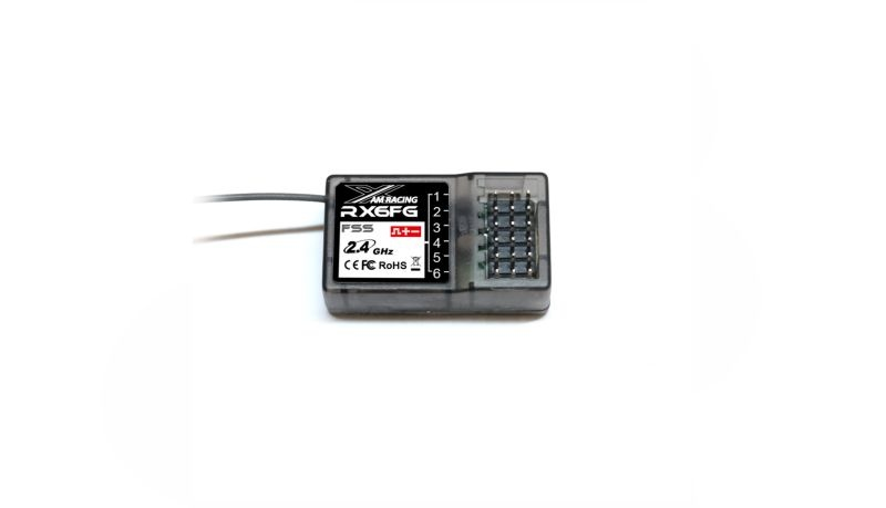 Empfänger RX6FG 6-Kanal 2,4GHz mit FSS