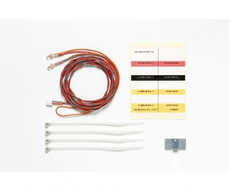 LED Licht rot Ø3mm 1100mm lang für Multifunktionseinheit MFC