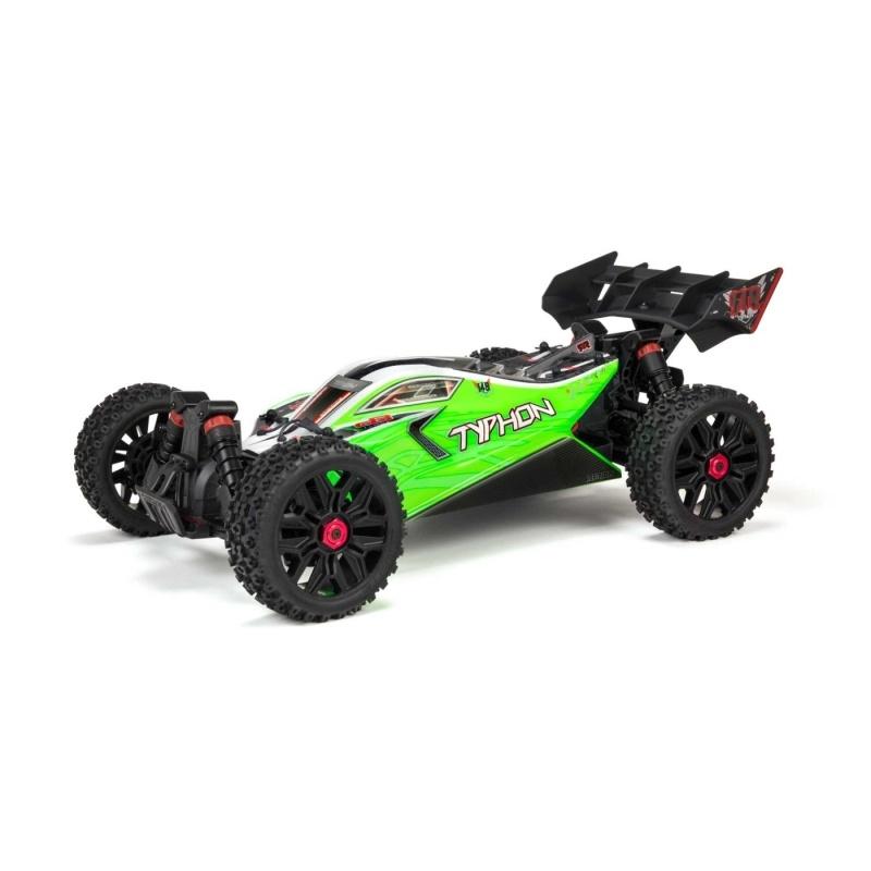 TYPHON 4X4 MEGA Brushed 1:10 4WD Buggy RTR, grün