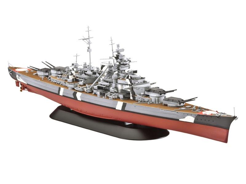 Battleship BISMARCK 1:700