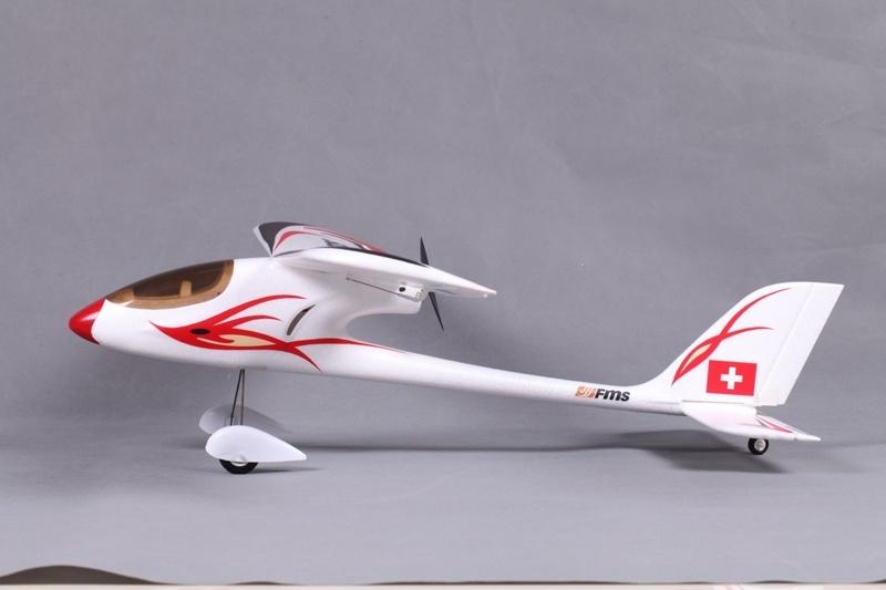 FMS Red Dragonfly RTF-Set incl Einsteiger Ideal f 90 cm 2.4GHz Fernsteuerung