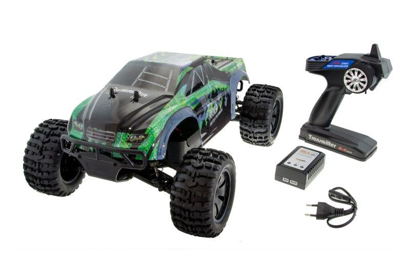 Yakubi Pro 1/10 Monster Truck 4WD Brushless 2,4GHz RTR