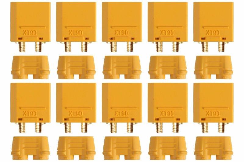 Goldkontakt XT90-S 10 Stecker