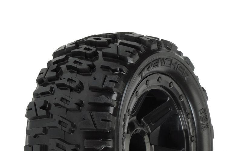 Trencher 2.2 Zoll M2 Reifen auf Desperado Felge Traxxas 1:16