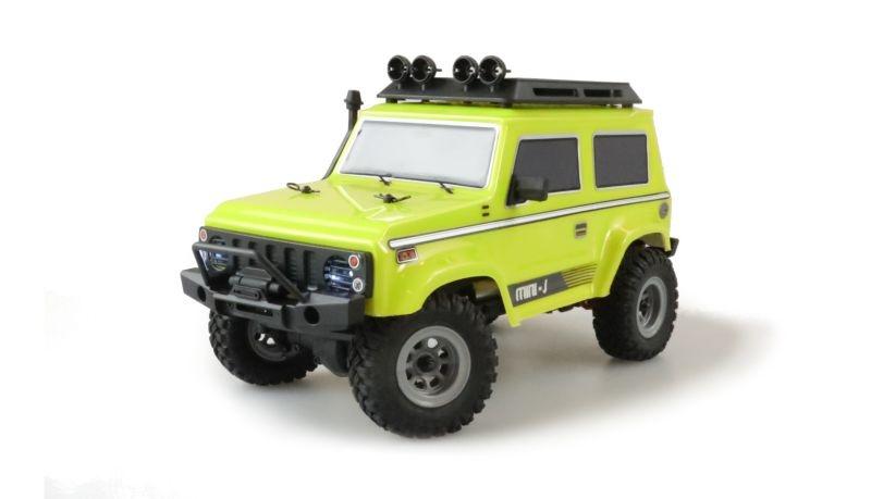 AMXRock Crawler AM24 4WD 1:24 RTR gelb