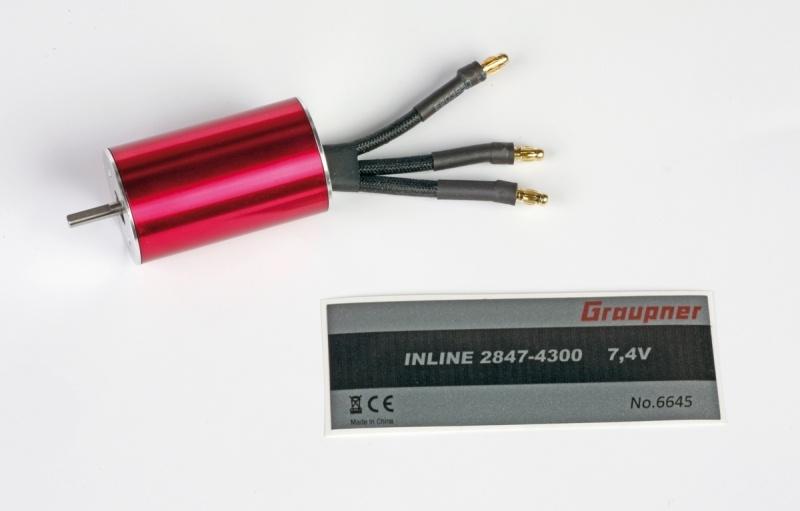 Inline 2847 7,4V Brushless Motor 2000KV