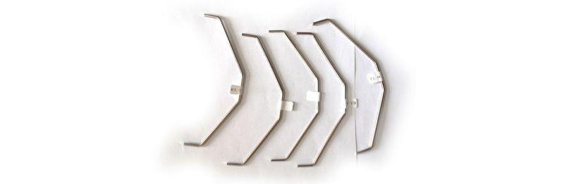 Stabilisatoren Satz hinten (2,2+2,4+2,6+2,8+3,0mm) - S8 NXR