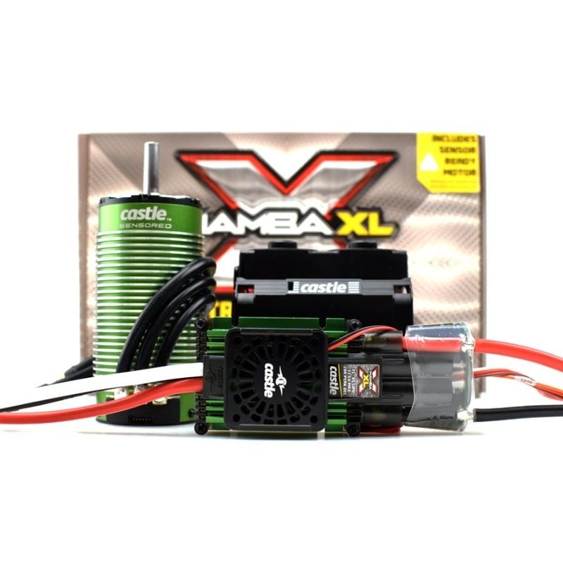 Mamba XLX Brushless Combo 2028-800KV Sensored Motor 1:5